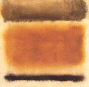 Untitled 1958 Coffee and Cinnamon By Mark Rothko