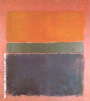 Reproduction of No 15 1958 by Mark Rothko | Oil Painting Replica On CanvasReproduction Gallery