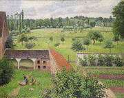 View from my Window Eragny By Camille Pissarro