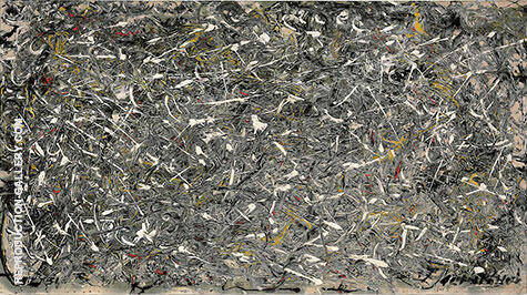 Reproduction of No 28 1951 by Jackson Pollock | Oil Painting Replica On CanvasReproduction Gallery
