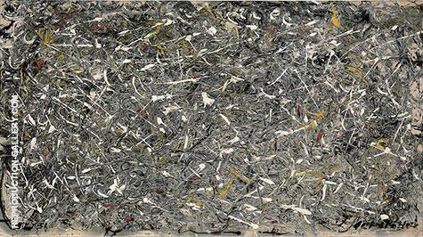 No 28 1951 By Jackson Pollock