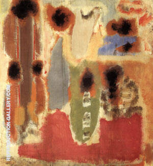 357 Untitled 1947 Painting By Mark Rothko - Reproduction Gallery