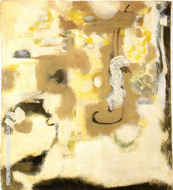 Untitled Recto 1947 By Mark Rothko