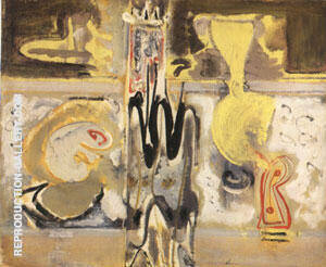 295 Untitled 1947 Painting By Mark Rothko - Reproduction Gallery