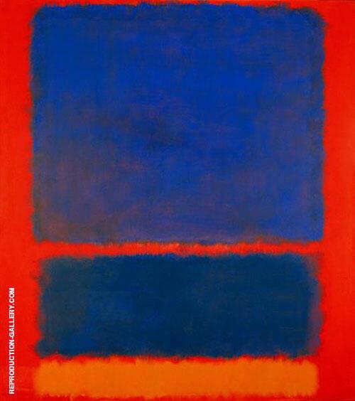Blue Orange Red 1961 By Mark Rothko