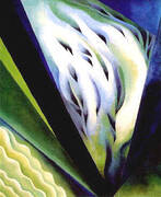 Blue and Green Music 1919 By Georgia O'Keeffe