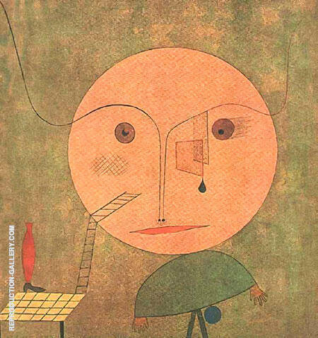 Error on Green 1930 By Paul Klee - Oil Paintings & Art Reproductions - Reproduction Gallery