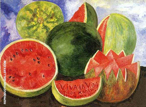 Viva la Vida Painting By Frida Kahlo - Reproduction Gallery