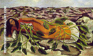 Frida Kahlo Roots 1943 By Frida Kahlo