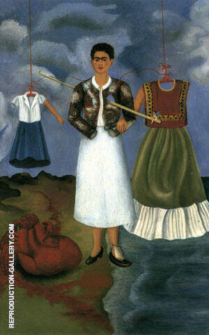 Memory 1937 Painting By Frida Kahlo - Reproduction Gallery