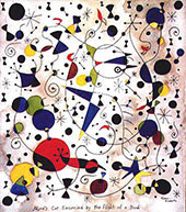 Frustrated Cat By Joan Miro