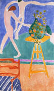 Vase of Nasturtiums with Dance 1912 By Henri Matisse