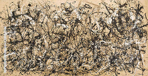 Autumn Rhythm Number 30 1950 By Jackson Pollock