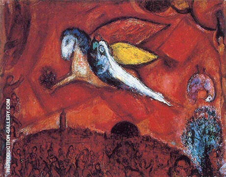 The Song of Songs IV Painting By Marc Chagall - Reproduction Gallery