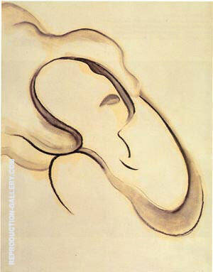 Abstraction IX By Georgia O'Keeffe