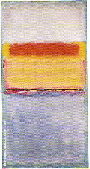 No 10 Untitled 1952 By Mark Rothko Replica Paintings on Canvas - Reproduction Gallery