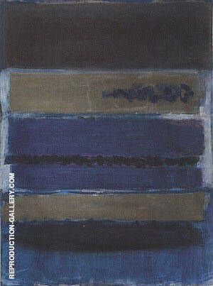 Number 5 Untitled 1949 Painting By Mark Rothko - Reproduction Gallery