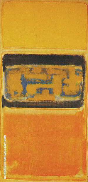 No 1 1949 By Mark Rothko Replica Paintings on Canvas - Reproduction Gallery