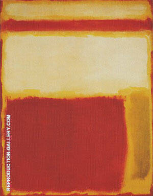 No 2 1949 By Mark Rothko Replica Paintings on Canvas - Reproduction Gallery