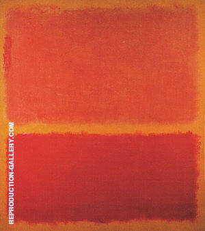 No 31 Yellow Stripe 1958 Painting By Mark Rothko - Reproduction Gallery