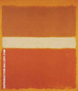 Ochre and Orange By Mark Rothko - Oil Paintings & Art Reproductions - Reproduction Gallery