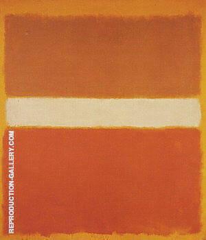 Ochre and Orange By Mark Rothko