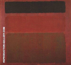 Red Brown Black 1958 By Mark Rothko