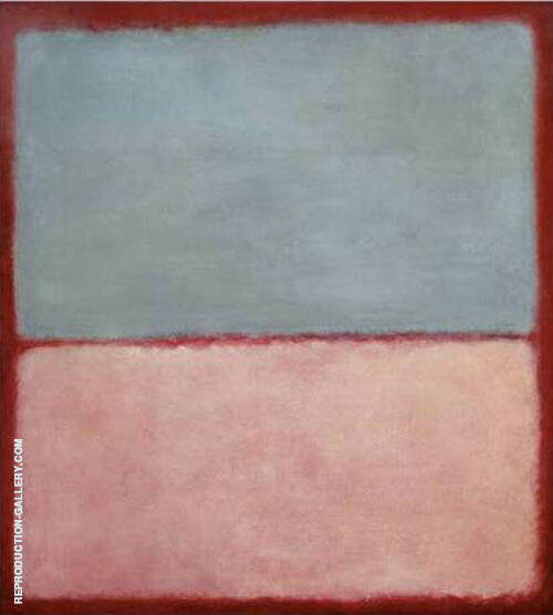 No 9 Blue Pink 1956 By Mark Rothko