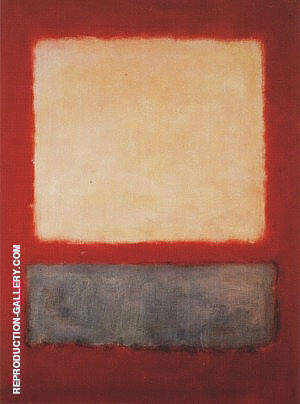 Light Over Grey By Mark Rothko