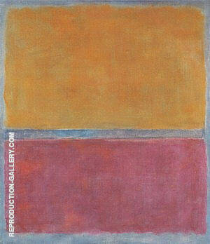 Plum and Brown Painting By Mark Rothko - Reproduction Gallery