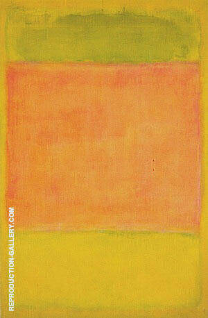 Untitled 1954 Lime By Mark Rothko Replica Paintings on Canvas - Reproduction Gallery