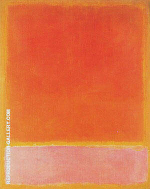 Untitled 1954 By Mark Rothko Replica Paintings on Canvas - Reproduction Gallery