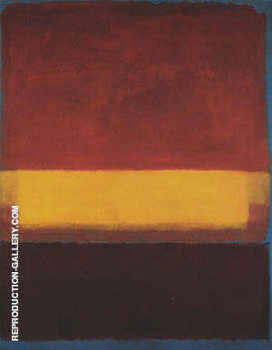 No 9 5 18 1952 By Mark Rothko Replica Paintings on Canvas - Reproduction Gallery