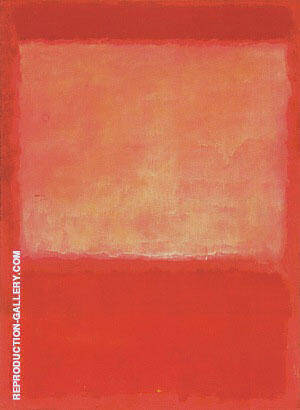 No 16 1960 Orange Purple Painting By Mark Rothko - Reproduction Gallery