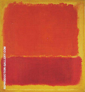 No 12 1951 Painting By Mark Rothko - Reproduction Gallery