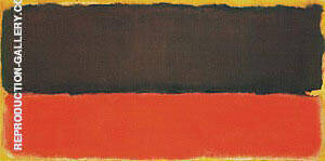 No 13 1951 Painting By Mark Rothko - Reproduction Gallery