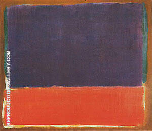 No 14 1951 Painting By Mark Rothko - Reproduction Gallery