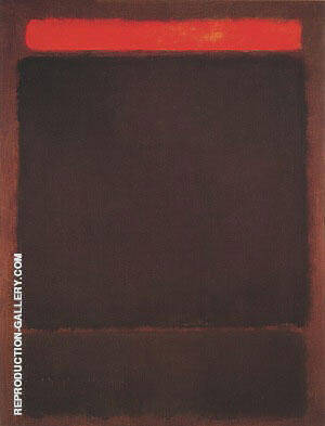 Untitled 1963 By Mark Rothko