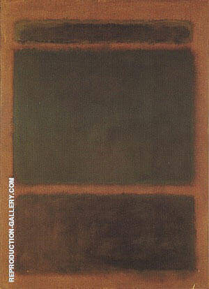 Untitled 1963B By Mark Rothko Replica Paintings on Canvas - Reproduction Gallery