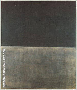 Black on Gray By Mark Rothko