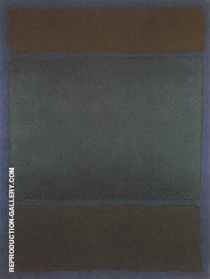 Untitled 1968 Painting By Mark Rothko - Reproduction Gallery