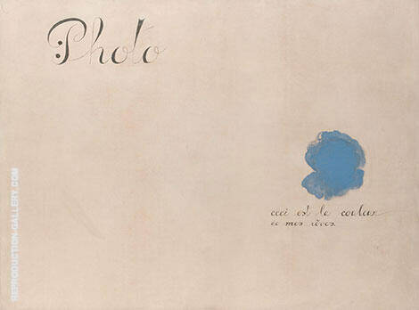 Photo- that is the colour of my Dreams 1925 By Joan Miro - Oil Paintings & Art Reproductions - Reproduction Gallery