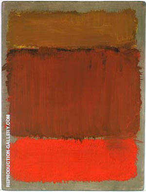 Untitled 1968 2 By Mark Rothko