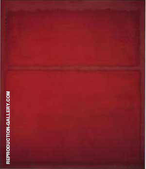 Untitled 1961 Red on Red By Mark Rothko