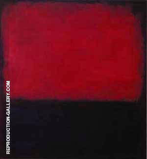 No 14 Red Painting By Mark Rothko - Reproduction Gallery