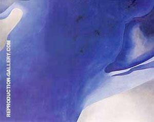 Blue B By Georgia O'Keeffe