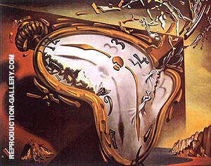 Les Montres Molles By Salvador Dali Replica Paintings on Canvas - Reproduction Gallery