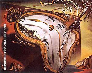 Les Montres Molles By Salvador Dali