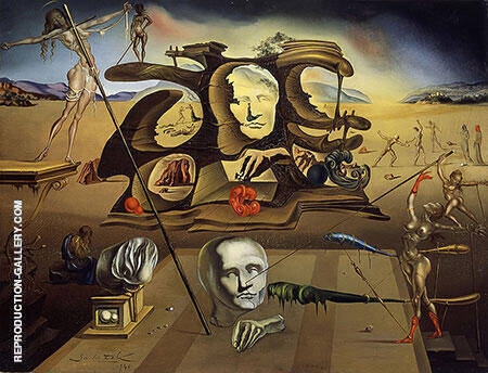 Napoleon's Nose 1945 Painting By Salvador Dali - Reproduction Gallery