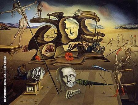 Napoleon's Nose 1945 By Salvador Dali